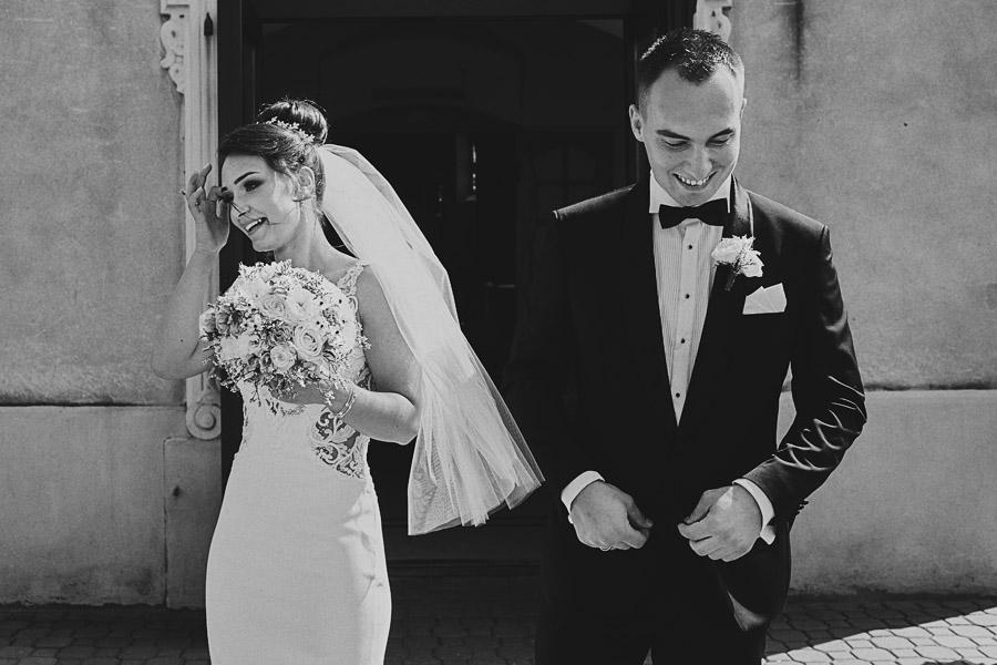 Fotografia ślubna - Blog - Aleksandra iKamil – ślub iwesele wnajlepszym humorze